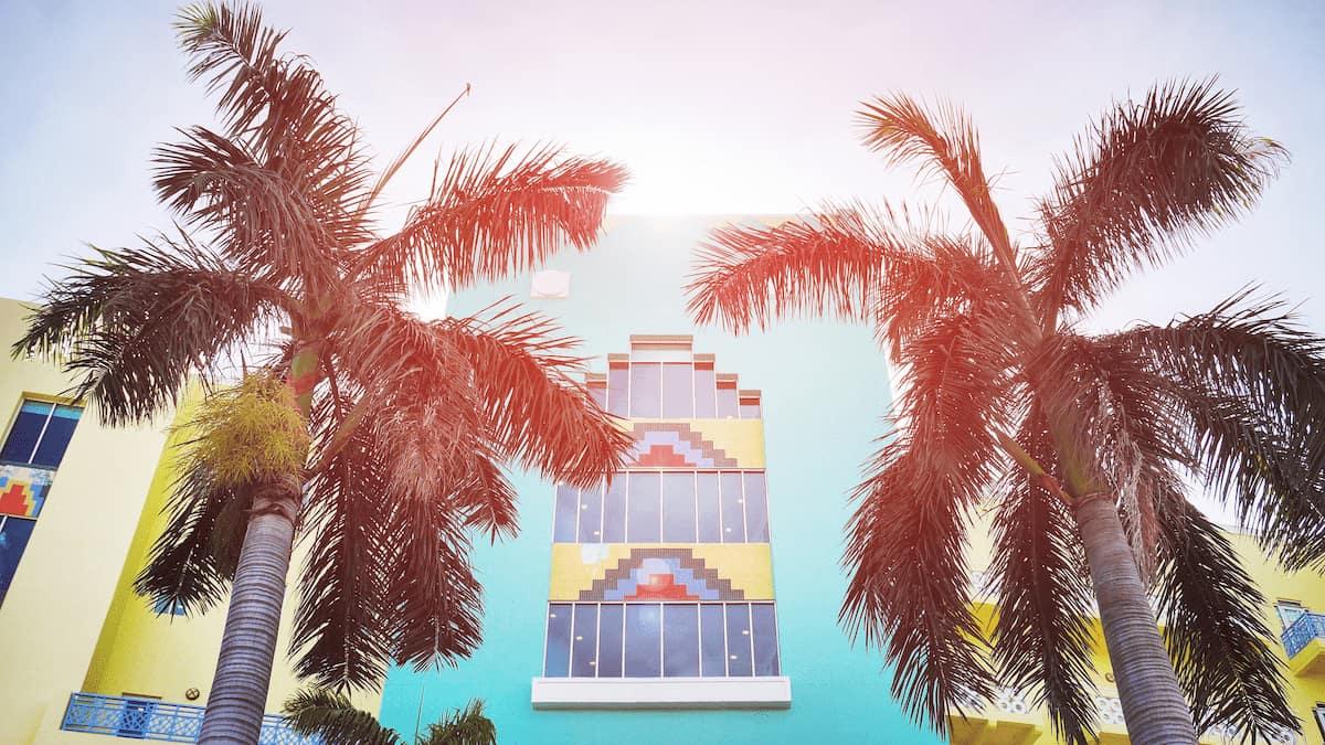 distrito art deco en miami